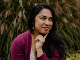 portrait of Karima Samadi